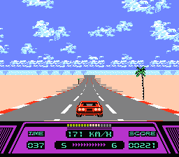 Rad Racer (NES)  © Nintendo 1987   3/3