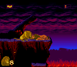 The Lion King (SNES)   © Virgin 1994    2/4