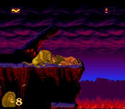 The Lion King (SNES)  © Virgin 1994   2/4