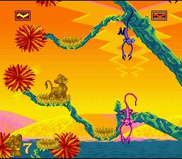 The Lion King (SNES)  © Virgin 1994   3/4