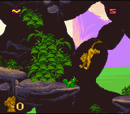 The Lion King (SNES)   © Virgin 1994    4/4
