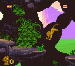 The Lion King (SNES)  © Virgin 1994   4/4