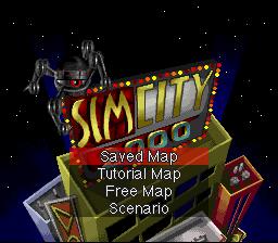 SimCity 2000 (SNES)  © THQ 1995   1/3