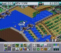 SimCity 2000 (SNES)  © THQ 1995   3/3