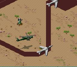 Desert Strike: Return To The Gulf (SNES)  © EA 1992   2/3