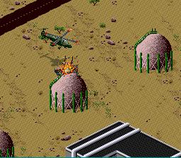 Desert Strike: Return To The Gulf (SNES)  © EA 1992   3/3