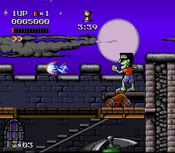 The Adventures Of Dr. Franken (SNES)  © Elite 1993   3/3