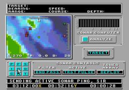 688 Attack Sub (SMD)  © Sega 1991   2/3