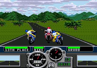 Road Rash (SMD)  © EA 1991   4/5