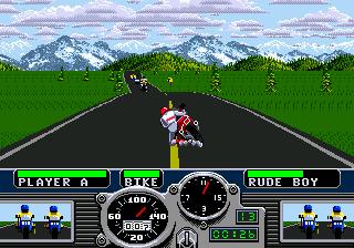Road Rash (SMD)  © EA 1991   5/5