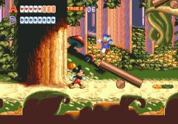 World Of Illusion (SMD)  © Sega 1992   3/4