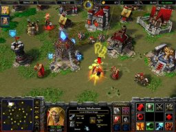 Warcraft III: Frozen Throne (PC)   © VU Games 2003    1/4