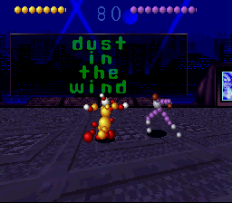 Ballz 3D: The Battle Of The Balls (SNES)   © Accolade 1995    2/3