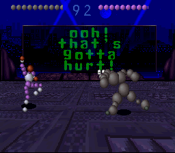Ballz 3D: The Battle Of The Balls (SNES)   © Accolade 1995    3/3