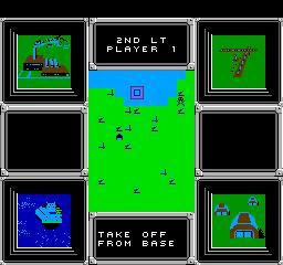 F-15 Strike Eagle (NES)  © MicroProse 1992   2/3