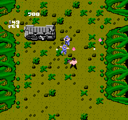 Ikari Warriors (NES)  © SNK 1986   3/3