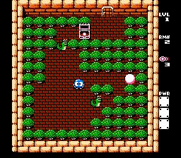 Adventures Of Lolo 3 (NES)  © HAL Laboratory 1990   3/3