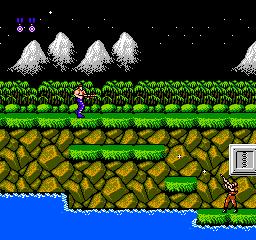Contra (NES)  © Konami 1988   2/3