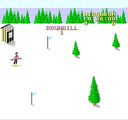 Snowboard Challenge (NES)  © Activision 1990   2/3