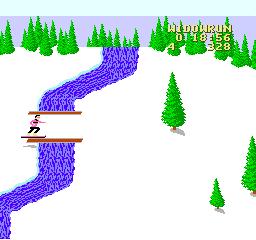 Snowboard Challenge (NES)  © Activision 1990   3/3