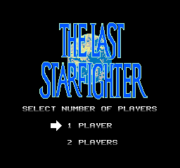 The Last Starfighter   © Mindscape 1990   (NES)    1/3