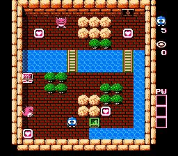 Adventures Of Lolo (NES)  © HAL Laboratory 1989   2/3
