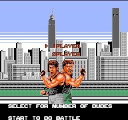 Bad Dudes Vs. Dragon Ninja (NES)  © Data East 1989   1/3