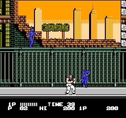 Bad Dudes Vs. Dragon Ninja (NES)  © Data East 1989   2/3