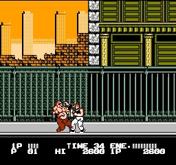 Bad Dudes Vs. Dragon Ninja (NES)  © Data East 1989   3/3