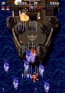 Gunbird (SS)  © Atlus 1995   3/4
