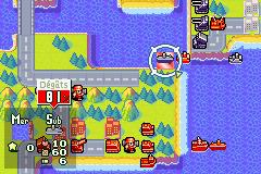 Advance Wars 2: Black Hole Rising (GBA)  © Nintendo 2003   2/3