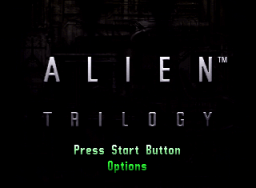 Alien Trilogy (SS)  © Acclaim 1996   1/5