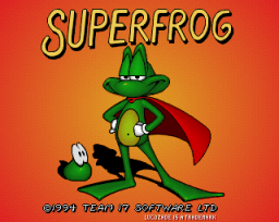 Superfrog (CD32)  © Team17 1994   1/3