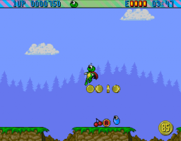Superfrog (CD32)  © Team17 1994   2/3