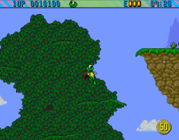 Superfrog (CD32)  © Team17 1994   3/3