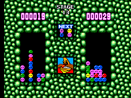 Dr. Robotnik's Mean Bean Machine (SMS)   © Sega 1993    2/2
