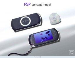 PSP Mock-up  ©    (PSP)  Tidlig mock-up fra officiel intern presentation|Early mock-up from an internal presentation 1/5