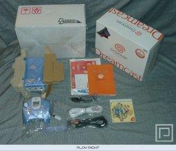 Dreamcast Pearl Blue  © Sega 2001  (DC)   5/6