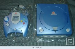 Dreamcast Pearl Blue  © Sega 2001  (DC)   6/6