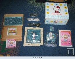 Dreamcast Hello Kitty [Blue]  © Sega 2000  (DC)   2/6