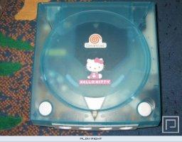 Dreamcast Hello Kitty [Blue]  © Sega 2000  (DC)   3/6