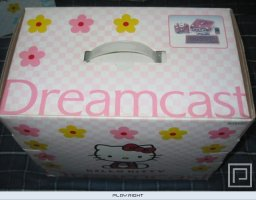 Dreamcast Hello Kitty   © Sega 2000   (DC)    2/3