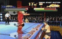 Giant Gram 2000: All-Japan Pro Wrestling 3 (DC)  © Sega 2000   2/4