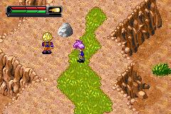 Dragon Ball Z: The Legacy Of Goku II (GBA)  © Infogrames 2003   3/3