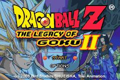 Dragon Ball Z: The Legacy Of Goku II (GBA)  © Infogrames 2003   1/3