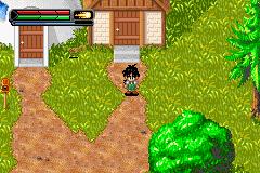 Dragon Ball Z: The Legacy Of Goku II (GBA)  © Infogrames 2003   2/3