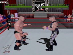 WWF Attitude   © Acclaim 1999   (N64)    2/3