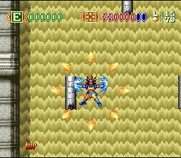 Skyblazer (SNES)  © Sony Imagesoft 1994   4/4