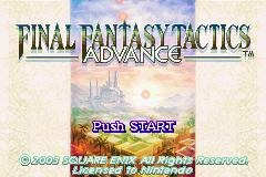 Final Fantasy Tactics Advance (GBA)  © Square Enix 2003   1/4