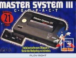 Master System III Compact  © Tectoy   (SMS)   1/1